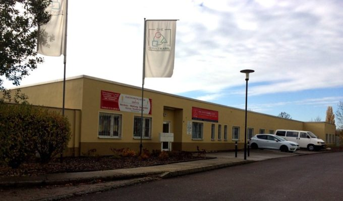 Firmensitz Halle ( Saale )